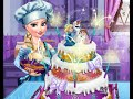 Disney Frozen Game - Frozen Elsa Wedding Cake Baby Videos Games For Kids