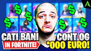 CATI BANI *AM BAGAT* IN FORTNITE ? - LOCKER OG !