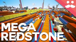 I Made the ULTIMATE Redstone World! [4K 360' Video!] thumbnail