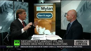 Securities Lawsuit Filing Follows Generic Drug Price Fixing Allegations