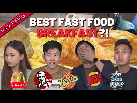 Best Fast-Food Breakfast Platters in Singapore | Taste Testers | EP 122