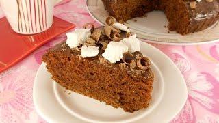 Влажный шоколадный пирог без яиц в мультиварке