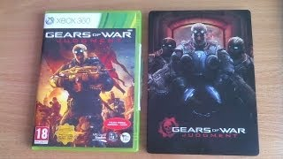 Gears of War: Judgment - Unboxing PL (edycja Steelbook na X360)
