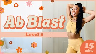Ab Blast Level 1 | Beginner Pilates Ab Workout