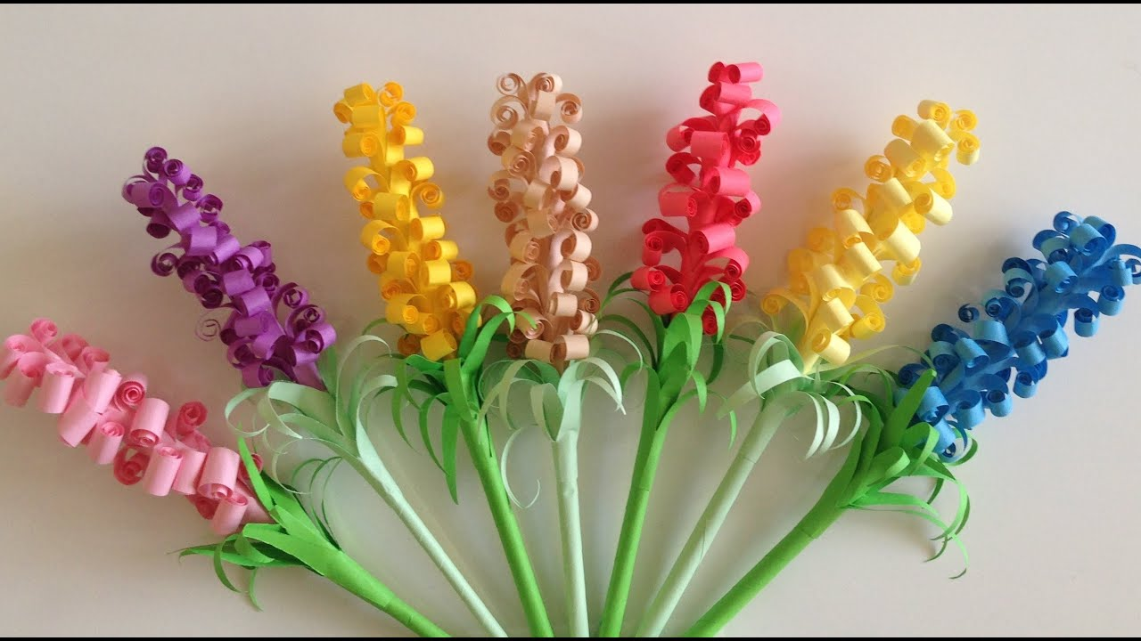 Quilling colorful lilac flowers youtube quilling colorful lilac flowers mightylinksfo Gallery