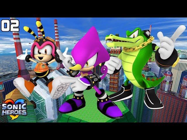 Sonic Heroes (GC) [4K] - Team Chaotix (2/7)