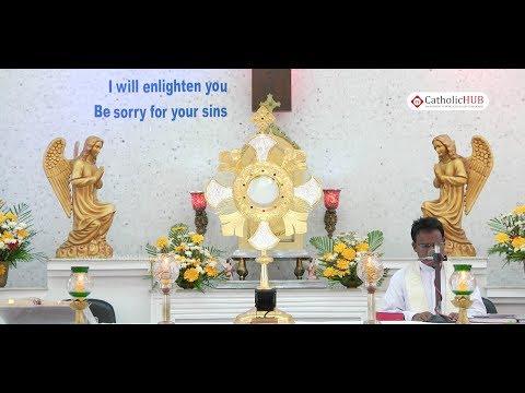 Eucharistic Adoration @Divine Mercy Church,Annanagar,Chennai,TN. 07-07-17