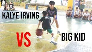 Kalye Irving played a bigger opponent