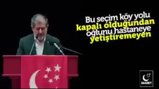 SAADET PARTİSİ'NDEN AKP'Yİ YIKACAK VİDEO