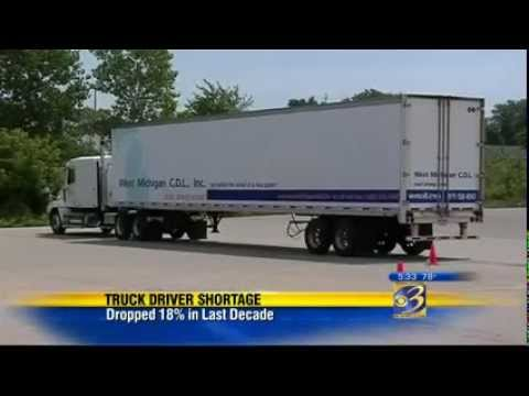 CBS covers the trucking industry and the truck driver shorta