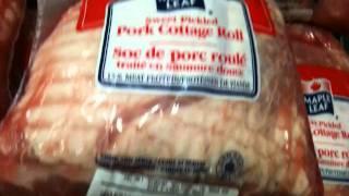 MAPLE-LEAF Pork Cottage Roll