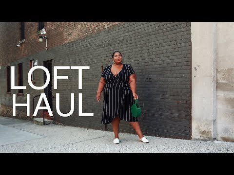 LOFT PLUS SIZE COLLECTION TRY ON HAUL