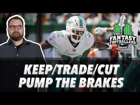 Fantasy Football 2018 - Keep/Trade/Cut, Pump the Brakes, Wet Toilet Paper - Ep. #625
