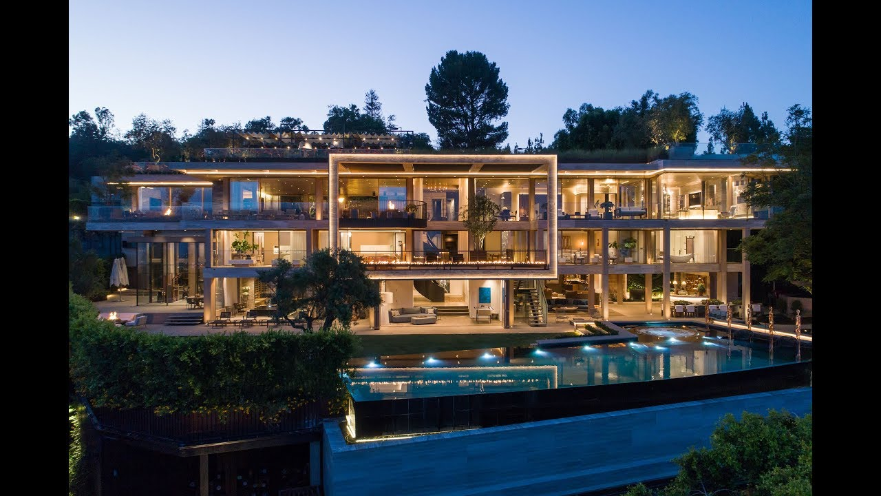 8th Highest Sale In Los Angeles History 822 Sarbonne Rd Bel Air Youtube
