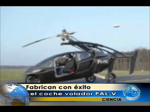 Fabrican con éxito el coche volador PAL-V
