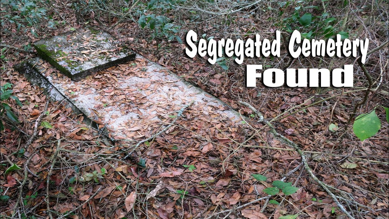 African American Cemetery in the woods