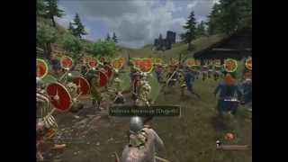 Mount and Blade: Warband Battlefield gameplay