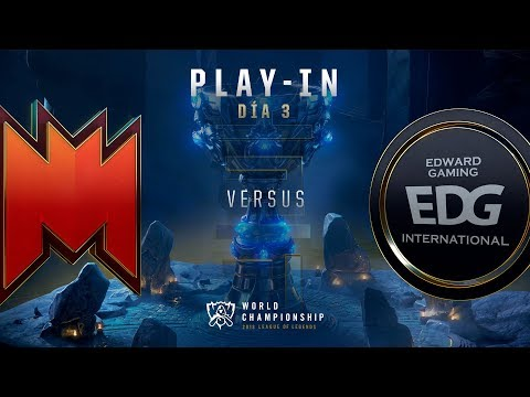 INFINITY ESPORTS VS  EDWARD GAMING | WORLDS PLAY-IN GRUPOS DÍA 4 | LEAGUE OF LEGENDS WORLDS (2018)