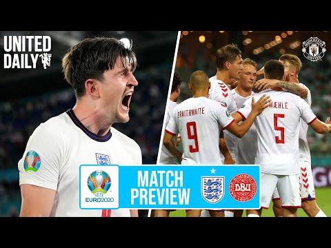 Inggris v Denmark Pratinjau Euro 2020 dengan Luke Shaw & Peter Schmeichel |  Manchester United