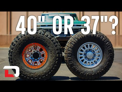 What It Takes to Run 40s on Your Rig | Harry Situations
