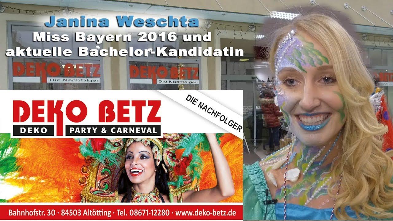 Deko Betz bachelor kandidatin janina weschta bei deko betz die nachfolger in