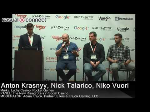 The New Rising Stars in Social Casino | Panel