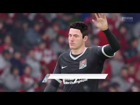 FIFA 18 PS4: Southhampton v. Northampton Town, 2018 FA Cup Round 5