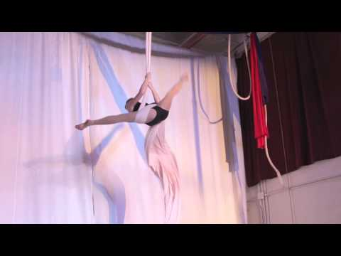 West Coast Aerial Arts Festival 2014 - Teen Division Aerial Silks Category