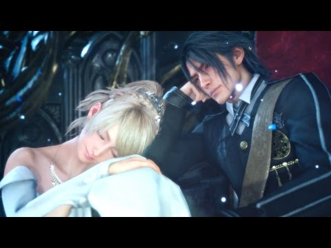 FINAL FANTASY XV - Noctis and Luna Wedding l Secret Ending Cutscene
