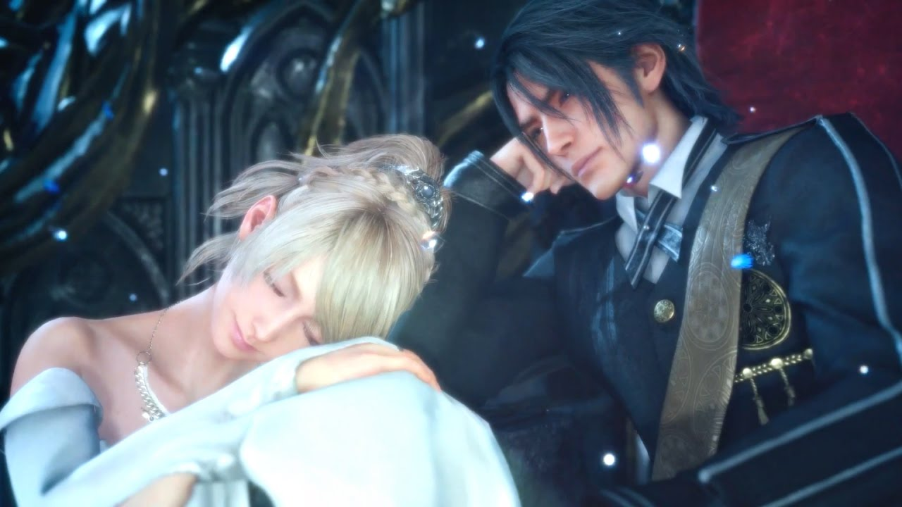 Noctis And Luna Wedding L Secret Ending