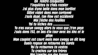 La Fouine - Original ( ft Nhar Sheitan Click ) + Paroles / Lyrics