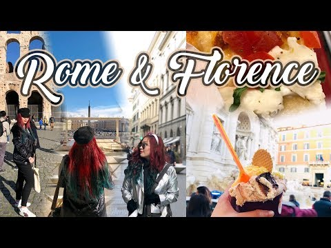 🇮🇹ROME & FLORENCE Italy | Food, Sightseeing, Culture + more! | EUROPE TRAVEL VLOG