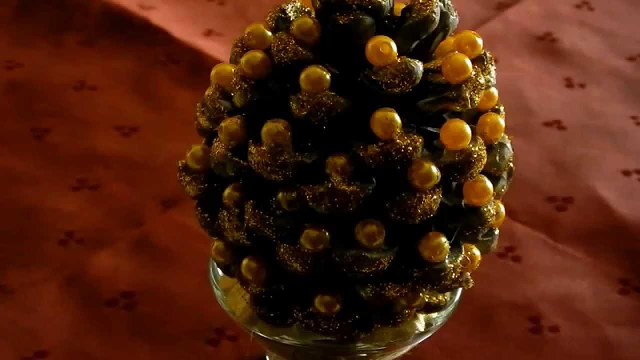 Come fare un albero di natale con le pigne margistyle for Albero di natale con pigne
