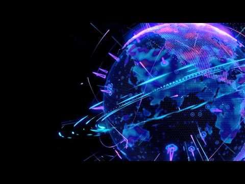 1080p News globe 3d animation background...