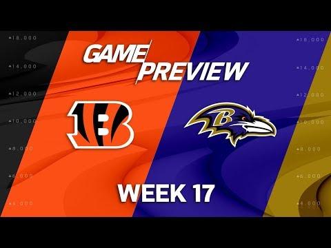 Cincinnati Bengals vs. Baltimore Ravens | NFL Week 17 Game Preview | NFL Playbook