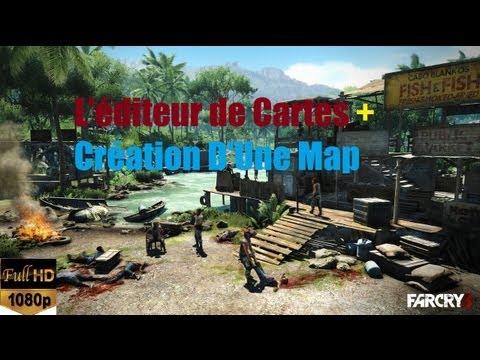 FAR CRY 3 L'éditeur de Cartes + Création D'Une Map ★[Full HD 1080P]★