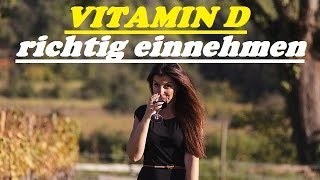 Vitamin D richtig einnehmen OHNE ÖL