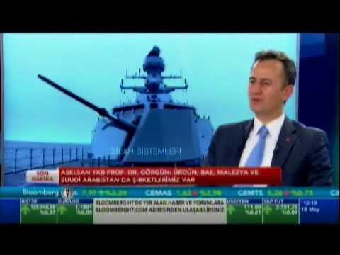 ASELSAN Yönetim Kurulu Başkanı ve Genel Müdürü Prof. Dr. Haluk Görgün'ün Bloomberg HT Röportajı
