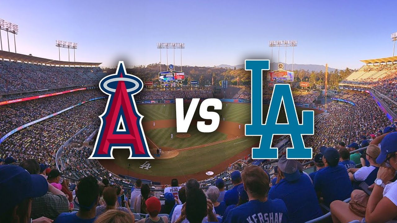dodgers  angels freeway series vlog  dodger stadium youtube