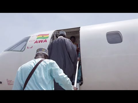 Africa World Airlines From Kumasi To Tamale With Layover In Accra - GHANA!