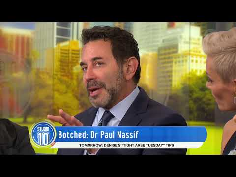 Dr Paul Nassif | Studio 10
