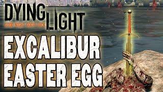Dying Light - EXPcalibur Easter Egg ( Localização e Gameplay com a Espada )
