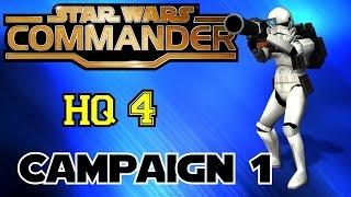 STAR WARS COMMANDER HQ4▐ Campaign 1: The Dandoran Conflict (Part 1)