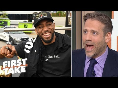 Kawhi would make the Raptors title favorites over LeBron, AD's Lakers - Max Kellerman | First Take