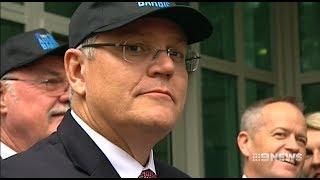 Nine News. Morrison Wants Migrants Sent To White Regions.(Goyim Agenda)