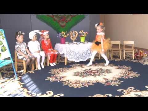 сказке теремок к театр декорации кукольный
