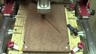 Les Paul Build 1 - Part 1: CNC Milling The Wiring Channel