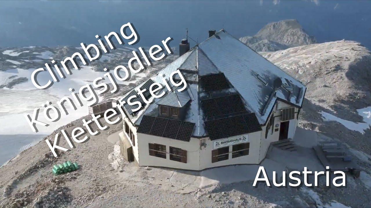 Klettersteig Königsjodler : Holadrio hochkönig Überschreitung über den königsjodler