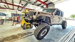 The LOWEST Flatbed Jeep Gladiator EVER - Truck Camper Update