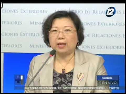 China asegura que relación con El Salvador es transparente